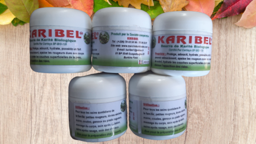 80g beurre de karité 100%-Bio du Burkina Faso. Excellente Qualite Made in Burkin